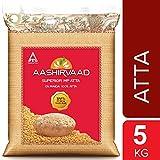 Aashirvaad Whole Wheat Flour (Atta) - 11 Lbs