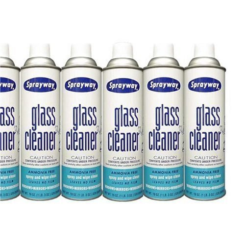 Sprayway Glass Cleaner (12 Can Economy Pack)
