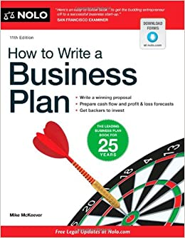 Steps in writing a business plan