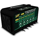 The Battery Tender 5-Bank charger is a top-of-the-line 12 volt 2.0 amp per circuit charger, perfect for automotive, motorcycle and marine repair and maintainence shops. The 5-Bank uses micro-processor technology in a four-stage charging profi...