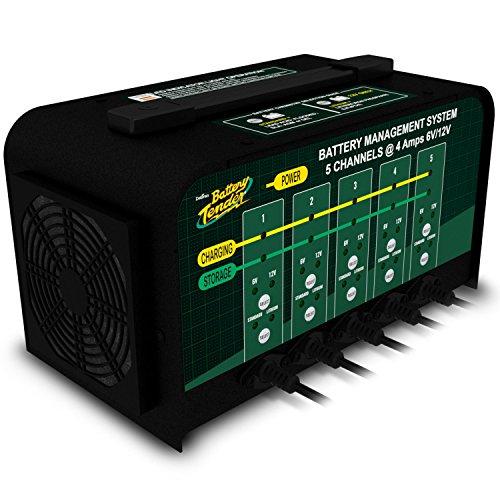 Battery Tender 5-Bank 021-0133, 4 Amp, 6V or 12V Lithium Only Selectable Commercial Battery Management System by Battery Tender (Image #5)