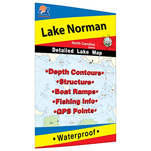 Norman Lake Fishing Map