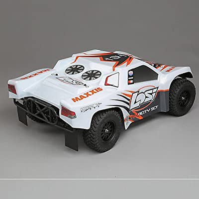 1/10 TENACITY SCT 4WD RTR with AVC White/ Orange