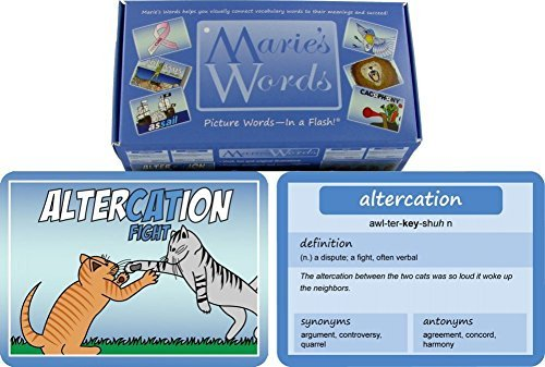 Marie's Words SAT Vocabulary Flash Cards