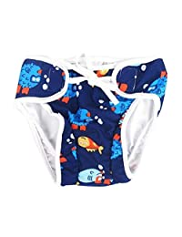 [Fish] Reuseable Baby Swim Diaper Lovely Infant Swim Nappy Swimwear