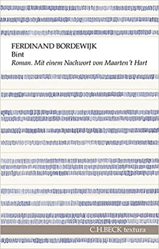 Bint Roman Eines Senders Ferdinand Bordewijk