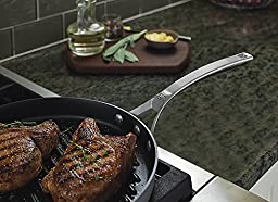 Calphalon 1948254 Signature Hard Anodized Nonstick Grill Pan, 12\