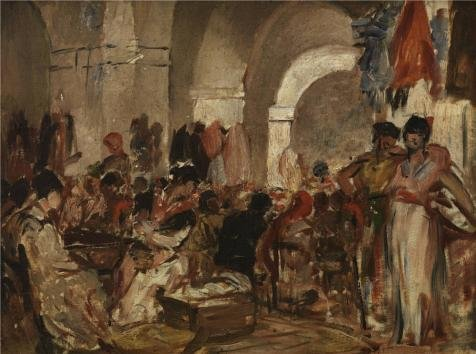 The Perfect Effect Canvas Of Oil Painting 'Cigar Fabricating In Sevilla By Constantin Emile Meunier' ,size: 30x40 Inch / 76x102 Cm ,this Amazing Art Decorative Prints On Canvas Is Fit For Bar Gallery Art And Home Decoration And (Jasper Bar Chair)