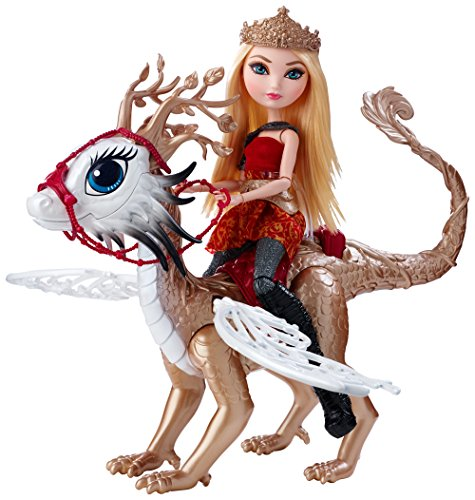 Ever After High Dragon Games Apple White Doll and Braebyrn Dragon (Apple White Ever After High Doll)