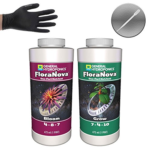 (General Hydroponics FloraNova Grow & Bloom - 1 Pint Each)