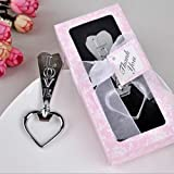 100pcs Love Heart Bottle Opener For Wedding Party Favor