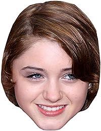 Natalia Dyer Celebrity Mask, Card Face and Fancy Dress Mask