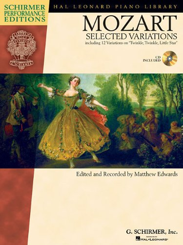 Selected Variations Including Twinkle Twinkle Bk/Cd (Hal Leonard Student Piano Library)
