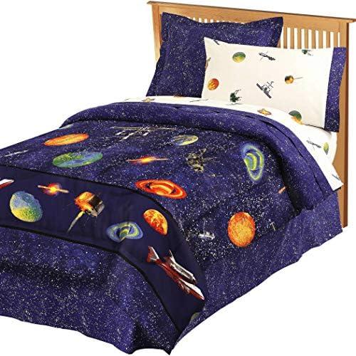 Comforter Orbiting Planets Twinkling Satellites