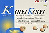 2 boxes Kava Kava Muscle Relaxant and Sleep Aid 500mg/each tablet (30ct each) For Sale