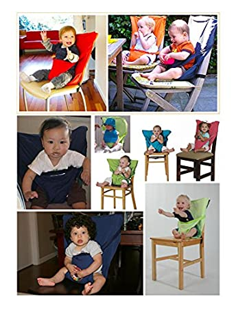 Botetrade Sicherer Reise-Ess-Stuhl, Klappbarer, Tragbarer Sitz f¨¹r for Baby, Kleinkind L150714CY08902