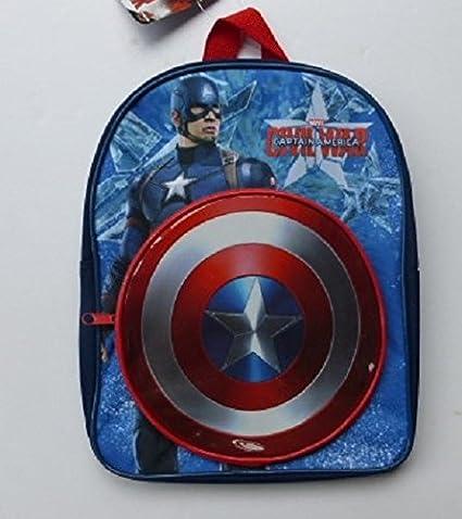 b17615a321ed Marvel Avengers Captain America Kids Backpack   School Bag  Amazon.co.uk   Kitchen   Home