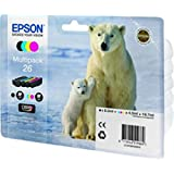 Epson C13T26164010 - EPSON T261 4 INK MULTI PACK CLARIA PREMIUM POLAR BEAR INK