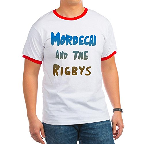 CafePress - Mordecai And The Rigbys T-Shirt - Ringer T-Shirt, 100% Cotton Ringed T-Shirt, Vintage Shirt