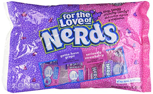 Wonka Grape & Strawberry Nerds - 12 oz