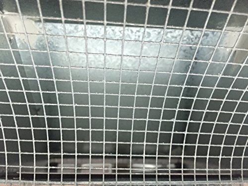 4 Inch Roof Vent Hood Cap Galvanized Damper & Screen - Vent Works by Vent Works (Image #6)