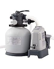 Intex Krystal Clear Sand Filter Pump and Saltwater System - Sandfilteranlage & Salzwassersystem - 220-240V - Bis zu 32,200L Pool
