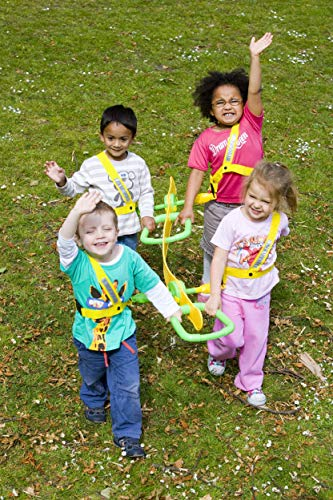 Walkodile Quattro (4 Child) - Kids Walking Rope, Childrens Reins, Toddler Safety Harness. Includes Free Learning Games for Walks Guide by Walkodile (Image #8)