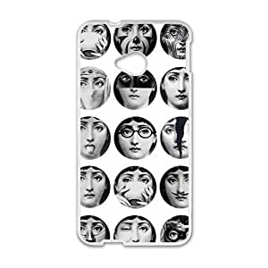Piero Fornasetti Cell Phone Case for HTC One M7