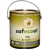 Afm Safecoat Flat Paint Pastel Base 0 Voc, White 32 Oz. Can 1/Case