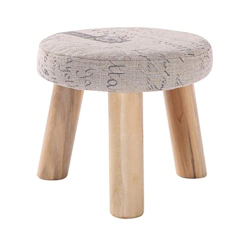 Amazon.com: ZfgG Stool Footstool Sofa Stool Upholstered ...