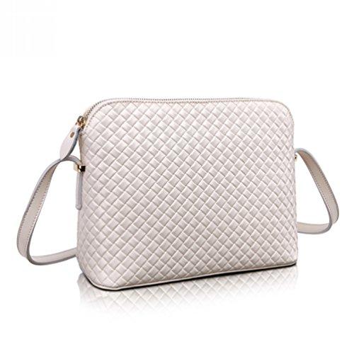 Choco Mocha Soft Leather Clutch Organizer Purse Shoulder Crossbody Wrislet Bag Satchel Purse Handbag For Women Hot Sell White Gsdl1543-w