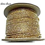 Am Goelx Stone Chain For Jewellery Making, Pack Of 2 Meters