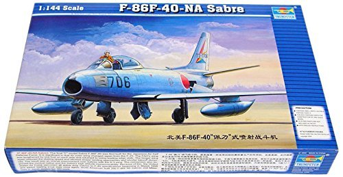 Trumpeter 1:144 - North-American F-86F-40 Sabre by Trumpeter (American F-86f Sabre North)