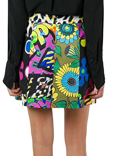 Moschino Mujer A10905611888 Multicolor Seda Falda