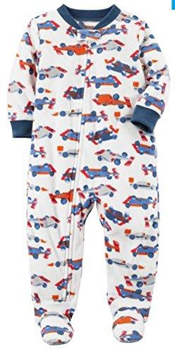Carter's Baby Boys' 1 Pc Fleece 327g106 (Race Cars, 6 Month)