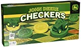 MasterPieces PuzzleCompany John Deere Classic Checkers Board Game