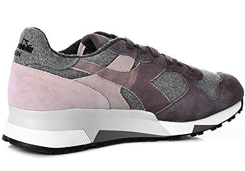 Marrone Suede Trident 90 Diadora Heritage tessuto Uomo Flannel Sneakers WZqCW8B4wn
