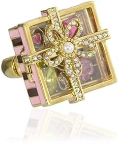 Betsey Johnson Candy Land Candy Box Stretch Ring, Size 7.5
