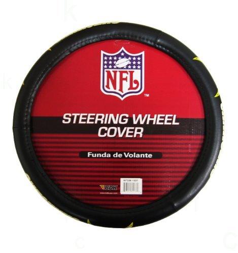 NFL Comfort Grip Steering Wheel Cover - San Diego Chargers (Steering Wheel Cover Chargers compare prices)