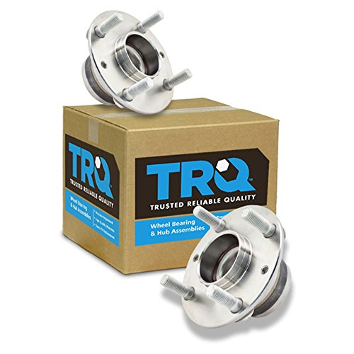 TRQ Front Wheel Hub & Bearing Assembly Pair Set for 90-05 Mazda Miata