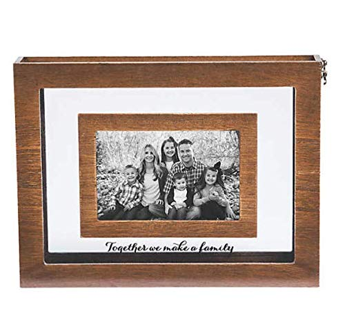 (Blended Family Sand Ceremony Photo Frame)