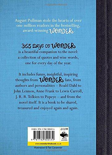 Wonder Book Quotes Stunning 48 Days Of Wonder Amazoncouk R J Palacio 48 Books