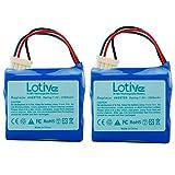 Lotive 2 Pack 7.2V 3500mAh Ni-MH Vacuum Cleaner