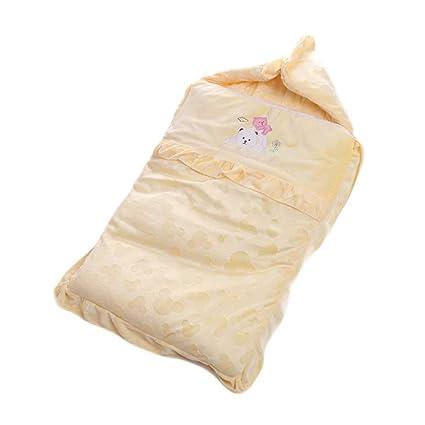Vicheng Saco de Dormir para bebé Terciopelo Otoño e Invierno Engrosamiento Anti-Patada Algodón Recién