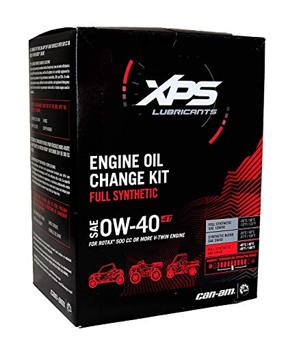 CAN-AM ATV/SXS 4T 0W-40 Synthetic Oil Change Kit for Rotax 500 cc or - Engine Oil 4t