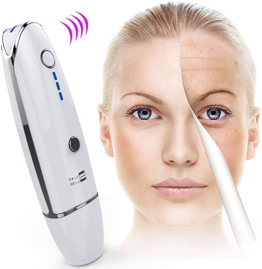 ACCDUER HIFU Facial de elevación de la máquina, en Forma de V Cuello de la Cara de RF de elevación Instrumento de la Belleza para Arrugas EXTRACCIÓN Extraer apriete círculos Oscuros