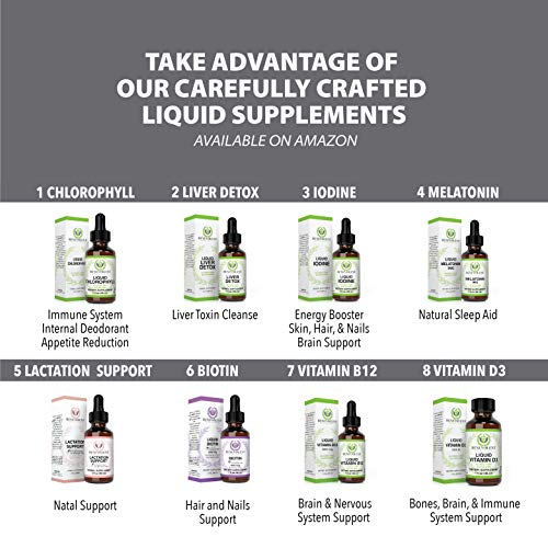 Lactation Supplement Breastfeeding Support Liquid - Organic Drops of Fenugreek, Blessed Thistle, Goats Rue Herb and more | 100% Natural, 2X Absorption, Sweet Taste | FREE of Sugar, Alcohol, and Gluten by Benevolent Nourishment (Image #7)
