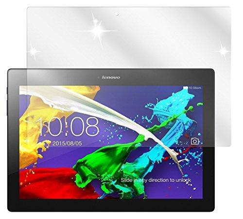 dipos Lenovo Tab 2 A10-70 Schutzfolie (2 Stück) - kristallklare Premium Folie Crystalclear