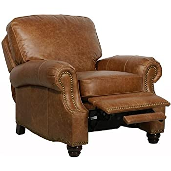 Barcalounger Longhorn II Leather Recliner Saddle Leather/Espresso Wood Legs  sc 1 st  Amazon.com & Amazon.com: Barcalounger Longhorn II Leather Recliner Saddle ... islam-shia.org