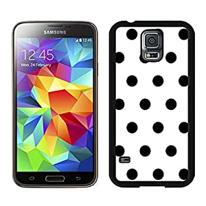 Kate Spade Black 042 Samsung Galaxy S5 Screen Cover Case Unique and Sweet Look